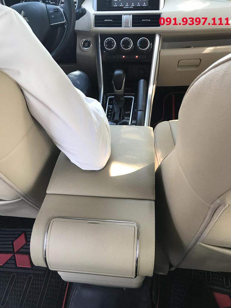 Hộp tỳ tay cho xe Xpander - Bệ tỳ tay cao cấp Mitsubishi Xpander
