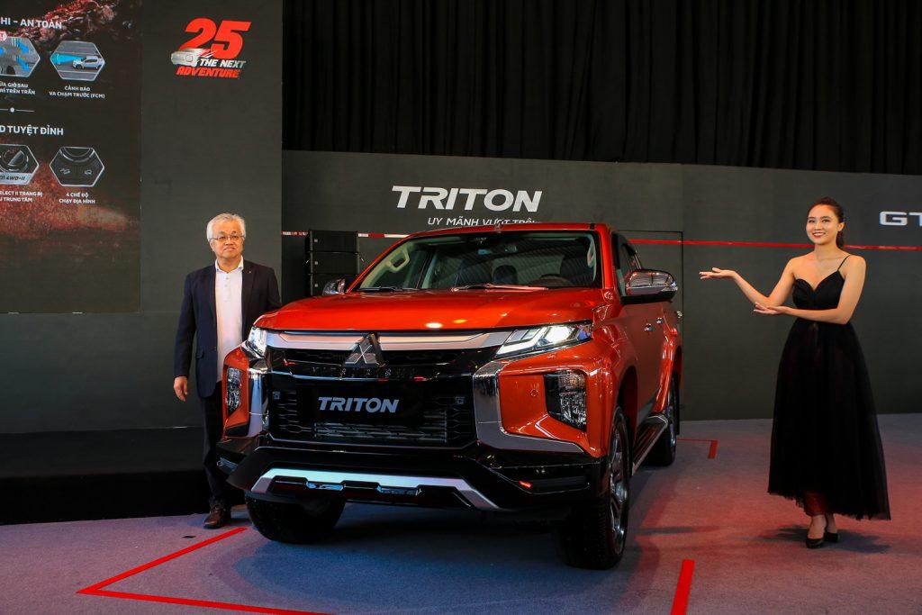 Mitsubishi Triton 2020 – Nâng cấp để vượt trội